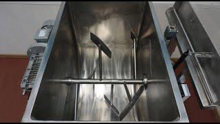 Видео: Фаршемешалка (фаршемес) ИПКС-019-300(Н). Объем 300 литров.