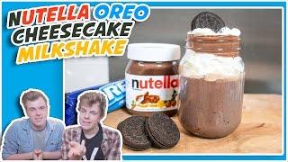 NUTELLA OREO CHEESECAKE MILKSHAKE RECIPE