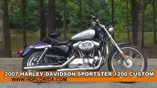 8. Used 2007 Harley Davidson Sportster 1200 Custom for sale *