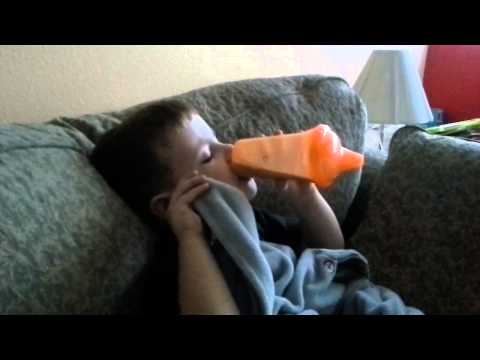 Caden has a drinking problem