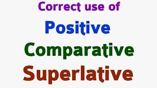 Download Lagu Adjectives | Positive degree | Comparative degree | Superlative degree . Mp3
