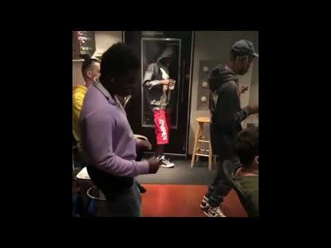 Travis Scott and Kodak Black- ZEZE (IN STUDIO)
