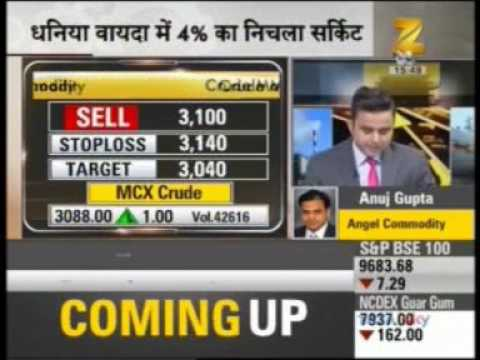Zee Business Mandi Live, 03 May 2017 - Mr. Anuj Gupta - Angel Broking