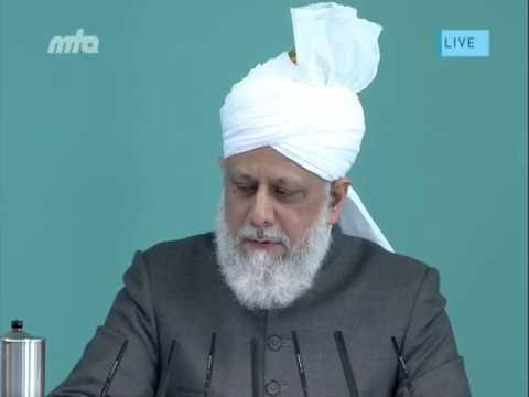 Eid-ul-Adha Ansprache des Kalifen (aba)