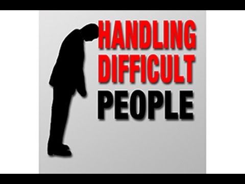 Sermons - HANDLING DIFFICULT PEOPLE - is difficult. Every day of life we encounter critical people, overly needy people, controlling manipulative people, and hypocriti...