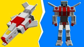 Minecraft - Pranking My Friends DRAGON As A TRANSFORMER In Crazy Craft | JeromeASF