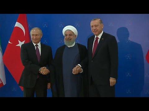 Teheran-Gipfel: Unterstützung für Syrien von Iran, Russland und der Türkei