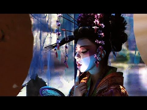 Fawazeer Myriam Japanese dance / ميريام فارس رقص ياباني