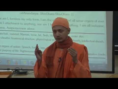 Swami Sarvapriyananda:Workshop on Stress-free Living at IIT Kanpur