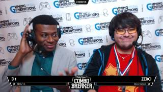 ZeRo interview from Combo Breaker – talks about matchups, recommendations for future patches and the recent SHOTS