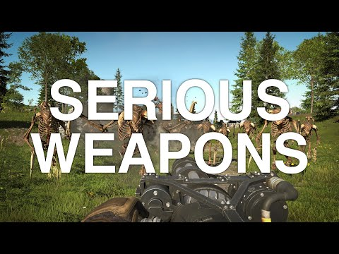 Serious Sam 4 - Serious Weapons de Serious Sam 4: Planet Badass