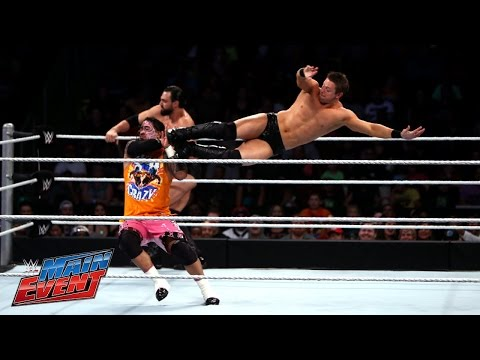 event - The Miz & Damien Mizdow challenge The Usos in a sequel to their encounter from Raw. See FULL episodes of WWE Main Event on WWE NETWORK: http://bit.ly/WWEME Don't forget to SUBSCRIBE: ...