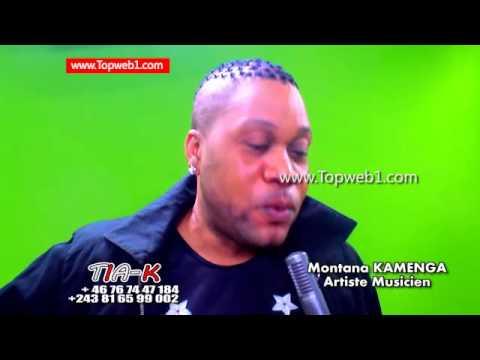 EXCLUSIVITÉ: l'Artiste Musicien Montana KAMENGA présente et parle de son nouvel Album BÉBÉ BOUCHOU