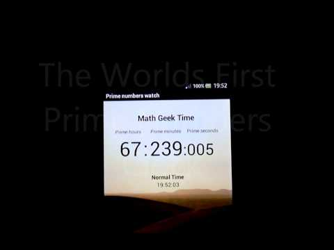 Video of Prime Numbers Clock