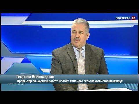 Георгий Волколупов, проректор по научной работе ВолГАУ, кандидат сельскохозяйственных наук