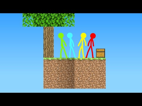 SkyBlock - Animation vs. Minecraft Shorts Episode 11