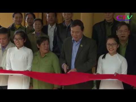 Khánh thành nhà tình nghĩa cho hội viên hội Cựu TNXP
