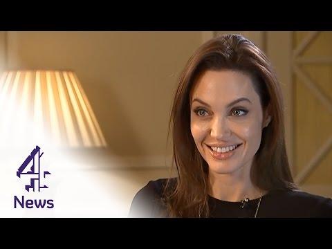 Video Angelina Jolie on Unbroken, directing Brad Pitt & the mansion tax download in MP3, 3GP, MP4, WEBM, AVI, FLV February 2017