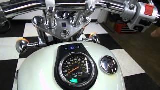 8. 2009 Suzuki LS650 S40 Boulevard White - used motorcycle for sale - Eden Prairie, MN