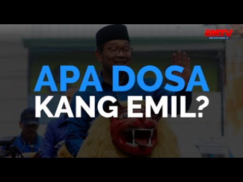 Apa Dosa Kang Emil?