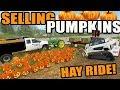 FARMING SIMULATOR 2017 | HALLOWEEN SPECIAL- DELIVERING PUMPKINS, HAY RIDES n CORN MAZE