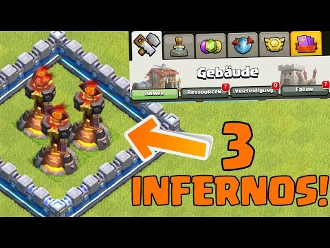 3. INFERNO TURM! ☆ Clash Of Clans ☆ Oktober Update! ☆ CoC