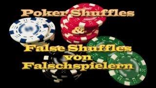 Mischtechniken/Shuffles Für Poker&Co|False-Shuffles&Bottom Deal (Tutorial German/Deutsch)