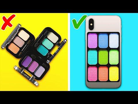 CREATIVE PHONE CASE DECOR IDEAS    5-Minute Ideas to Upgrade Your Phone Case!