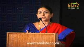 Saranya Ponvannan at Pappali Movie Audio Launch