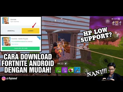 Cara Download Fortnite Mobile Di Android ! LENGKAP & TERBARU DAN SPESIFIKASINYA