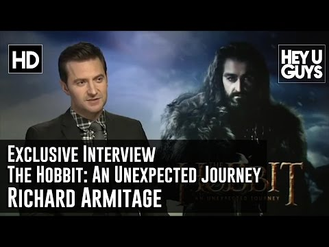 heyuguysblog - James Kleinmann interviews Richard Armitage who plays Thorin Oakenshield and on how impressed he was with the Lord of the Rings trilogy and being part of Pet...