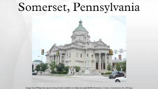 Somerset (PA) United States  city photos : Somerset, Pennsylvania