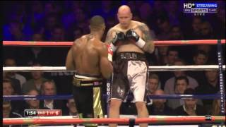 Anthony Joshua vs Paul Butlin 26/10/13