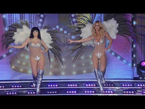 Sabrina Rojas se puso las plumas para el ritmo libre y homenajó a las divas
