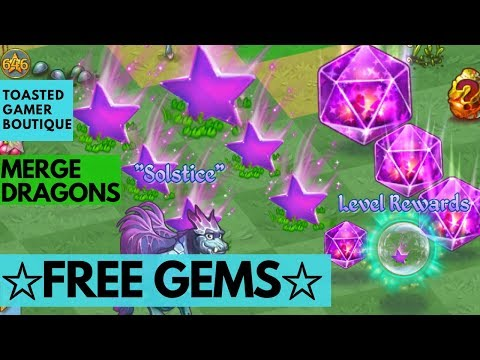 Merge Dragons • How To Get Gems ☆ 135 Free Dragons Gems ☆ 9 Insane Dragon Gems ☆