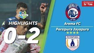 Video Arema FC vs Persipura Jayapura: 0-2 All Goals & Higlights MP3, 3GP, MP4, WEBM, AVI, FLV Desember 2017