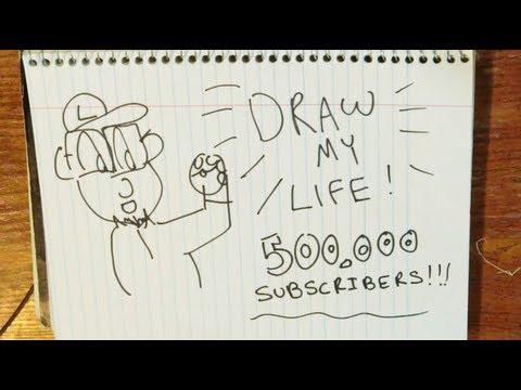 Draw My Life | TheJWittz - 500,000 Subscribers!
