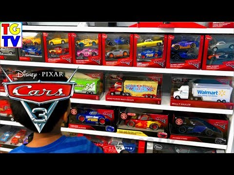 Disney Pixar Cars 3 Collection 1000+ Cars From Mattel & Disney