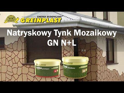 Nakładanie tynku mozaikowego - Greinplast GN N+L