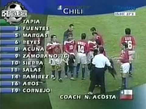 Brasil 4 vs Chile 1 Mundial de Francia 1998 8° Final FUTBOL RETRO TV