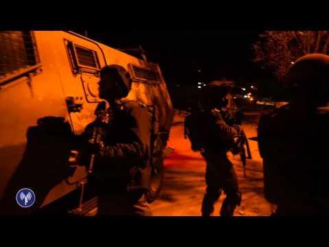 عملية اعتقال الصحفي فاروق عليات مدير مكتب قناة فلسطين اليوم