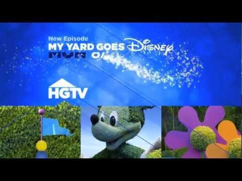 NEW My Yard Goes Disney Promo