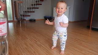 """Anakin will be 1 year old in few days! I am so excited.He started walking! Time is running sooo fast!I CAN'T BELIEVE IT! HE DID IT!!Day with my son!★ Subscribe to me NOW: http://bit.ly/ViralBrotherErik★★ Follow me on Instagram: http://instagram.com/erikmeldik★★★ Get ViralBrothers Merch: http://trikator.com/viralbrothers★★ NEW Channel for Kids and Adults liking easy fun here:► http://bit.ly/SuperHerovsSuperHero★ Follow me on Twitter: http://twitter.com/erikmeldik★ Like my Facebook: http://facebook.com/meldik✔ SMASH THE LIKE BUTTON if you liked this video :-)I really appreciate it.You are my HAPPY HAPPY FAMILY!►►► Get T-Shirt """"BE HAPPY HAPPY"""" here:http://www.trikator.com/en/tshirt-happyThank you for watching!With loveYourErik Meldik#BeHappyHappy► Our main prank channel: http://youtube.com/ViralBrothers► Our kids superhero channel: http://bit.ly/SuperHerovsSuperHero"""