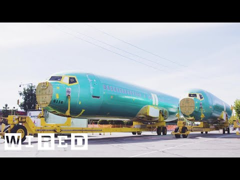 How Boeing Builds a 737 in Just Nine Day