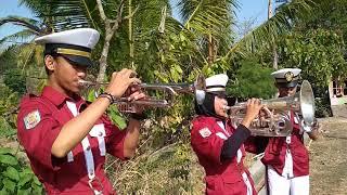 trompet marchingband lagu wajib nasional garuda pancasila