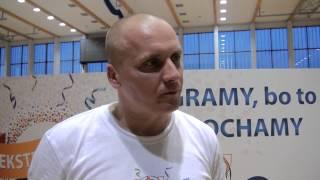 Wypowiedzi trenera i zawodników po meczu Nbit Gliwice vs Solne Miasto Wieliczka