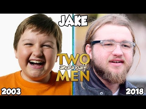 Two And A Half Men Then And Now 2018