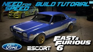 Nonton Need for Speed 2015 | Fast & Furious 6 Brian's Ford Escort Mk1 Build Tutorial | How To Make Film Subtitle Indonesia Streaming Movie Download
