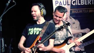 Paul Gilbert e Filipe Paiva - Jam (Little Wing)