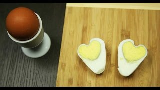 How To Make A Heart Egg ♥